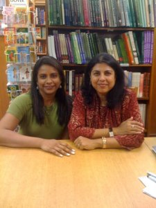 Chitra Banerjee and I