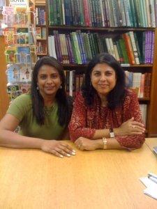 Chitra Banerjee and I